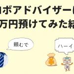 【悲報】ロボアド「ウェルスナビ 」に22万円突っ込んでみた結果www