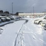 【七戸十和田駅】年末年始の駐車場混雑具合や雪の状況について